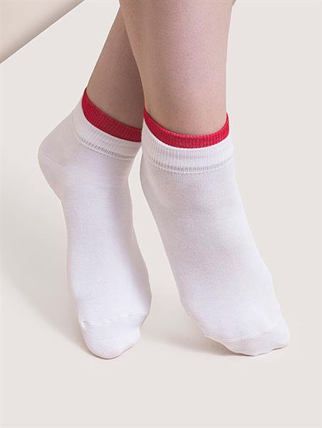 جوراب ساده سپیدا