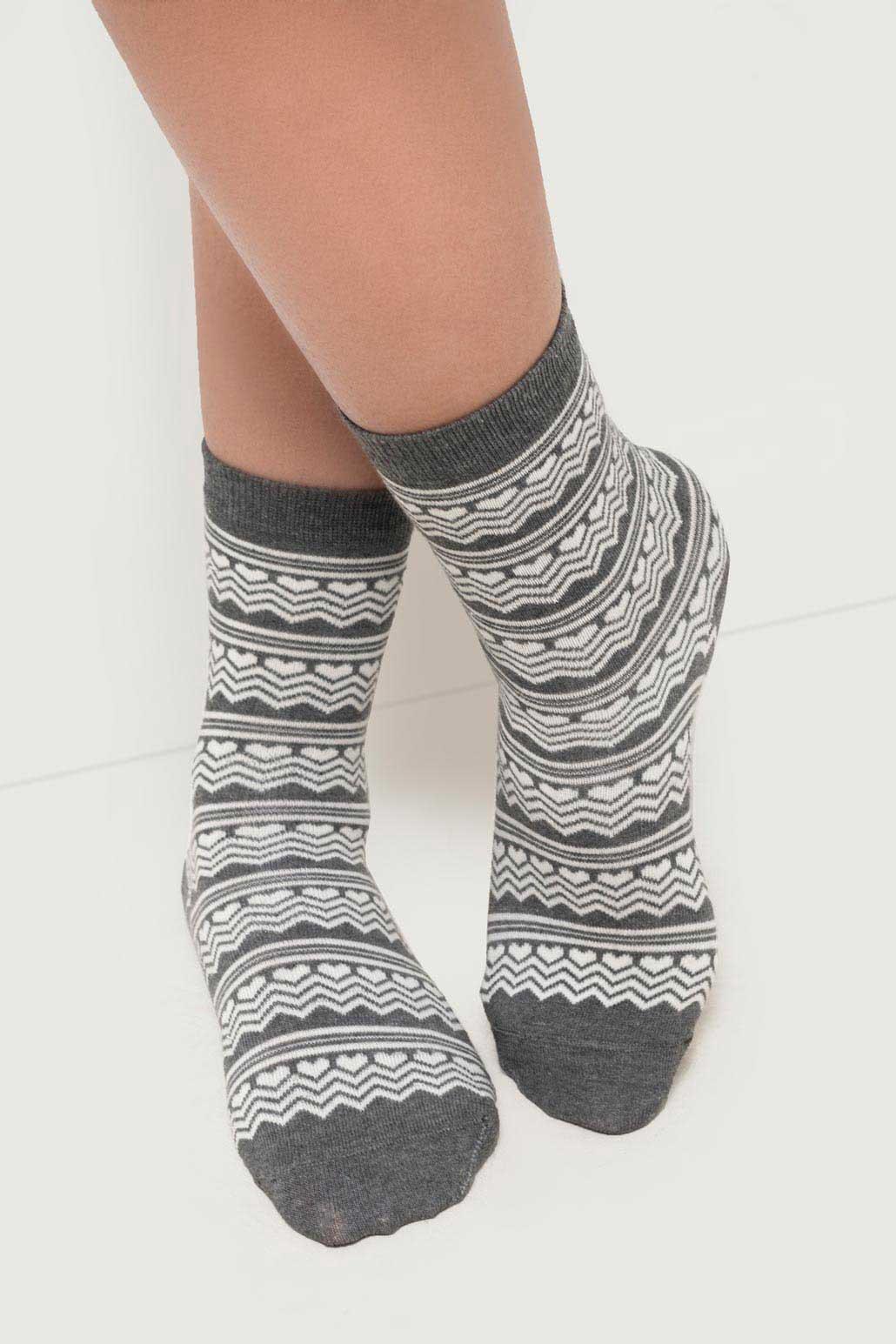 جوراب  طرحدار