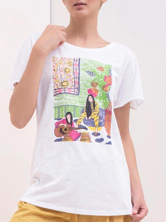 تی شرت طرحدار