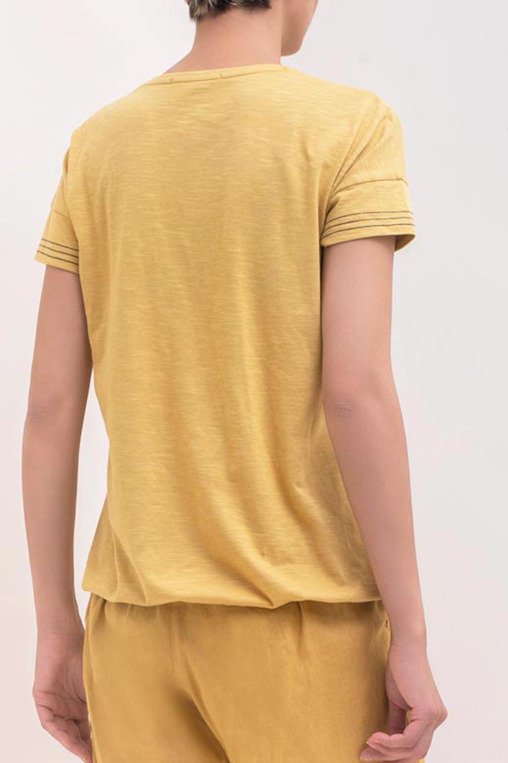 تی شرت چاپ گل