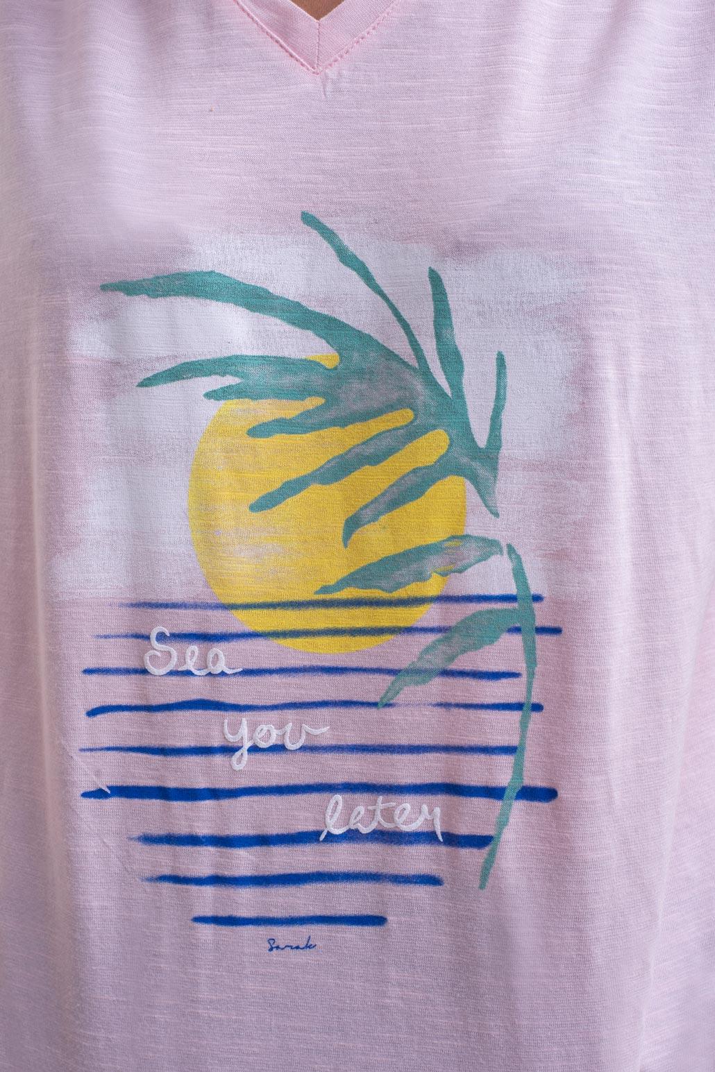 تی شرت دمپا گره ای