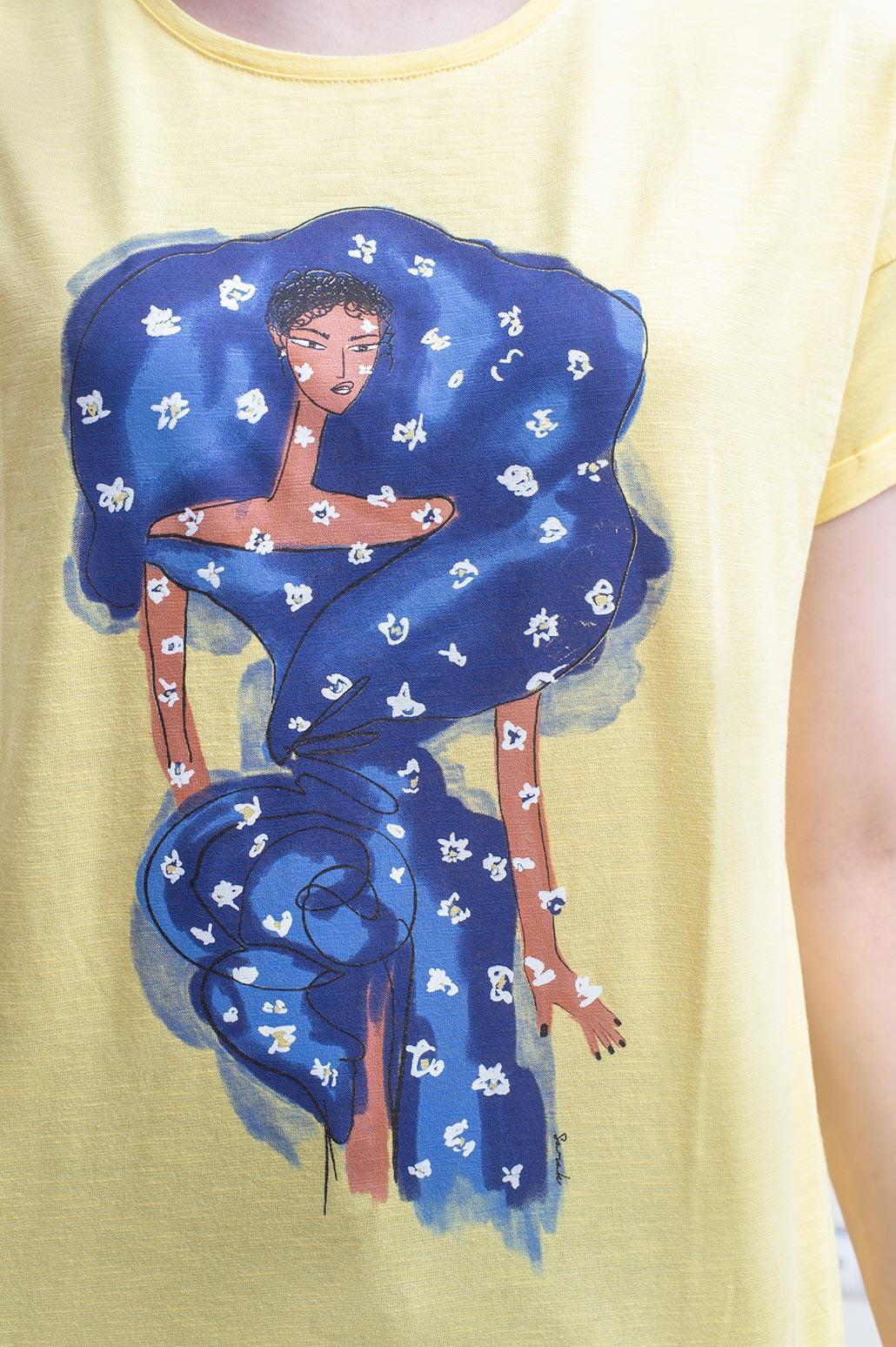 تی شرت آستین پاکتی**