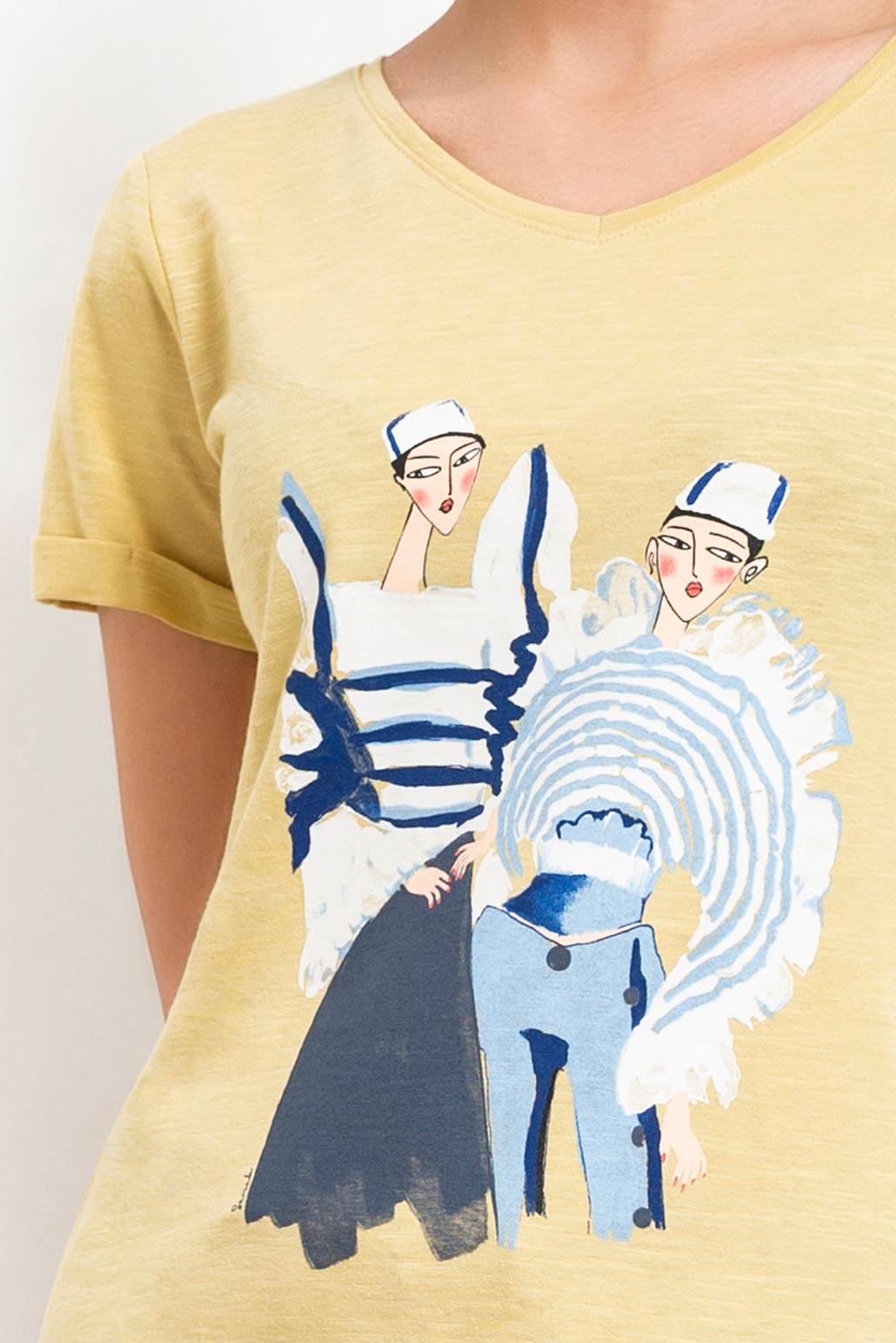تی شرت چاپ دختر